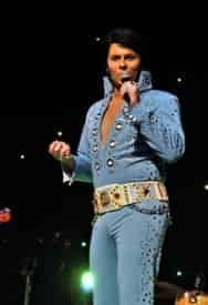 Elvis Live - Starring Alex Mitchell at the GTS Theatre