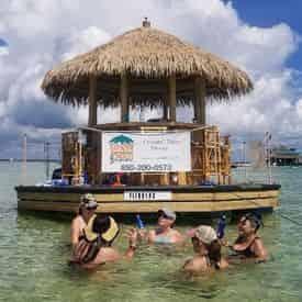 Crab Island Sandbar Tiki Adventure