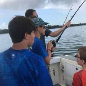 Kids Fishing Trip with Jessica Shoals Fishing Charters