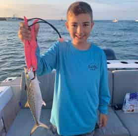 Kids Fishing Trip with Jessica Shoals Fishing Charters