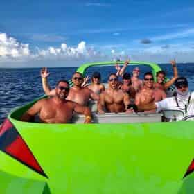 Crab Island Pass & Sunset Cruise Aboard the Scream Machine