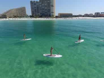 Sunset Stand Up Paddle Board Tour with WET Inc.
