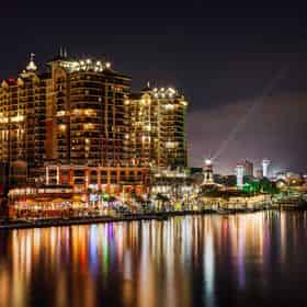 Harbor Lights Tiki Boat Cruise