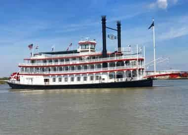 Riverboat CITY OF NEW ORLEANS  Jazz Brunch Cruise w/ optional Mardi Gras World Admission