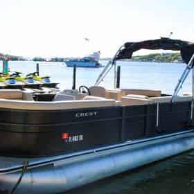 24 ft. Pontoon Boat Rental Departing From Okaloosa Island