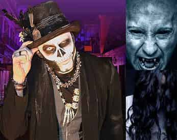 4-in-1 Ghost, Voodoo, Vampires & Witch Craft Tour