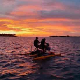 Mallory Square Hydrobike Sunset Tour