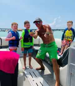 All-Inclusive Captained Pontoon Charter in Destin