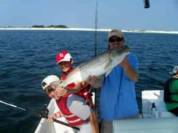 Orange Beach Family Fishing Excursion