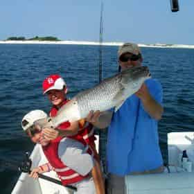 Orange Beach Family Fishing Excursion