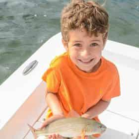 Kids Inshore Fishing Charter with Destin Inshore Guides