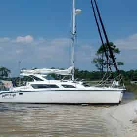 Catamaran Private Sailing Charter with Spider Crab Charters