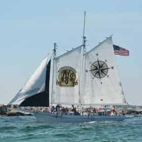 Swim & Sail Aboard the Daniel Webster Clements