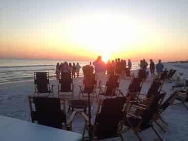 30A Beach Bonfire Rental & Setup