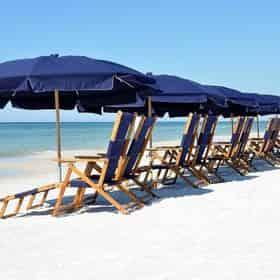 30A Beach Chair Setup in Seagrove
