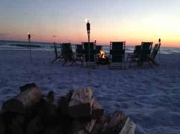 South Walton Beach Bonfires