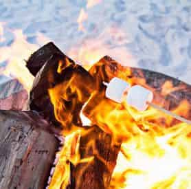 South Walton Beach Bonfires