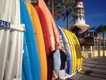 Kayak Rental with Shoreline Beach Service