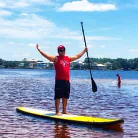 Paddleboard Rental with Shoreline Beach Service
