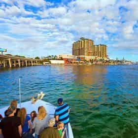 Destin Harbor Fireworks Cruise Aboard The Hannah Marie