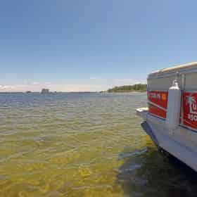 24 ft (12 passenger) Destin Pontoon Boat Rental