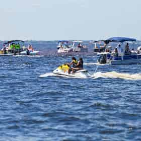 Destin Waverunner Rental Departing From The Destin Boardwalk