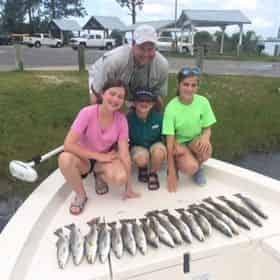Santa Rosa Charters - Private Inshore Fishing 30A