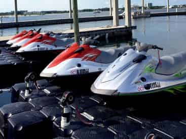 Jet Ski Rentals with Caribe Marina & Watersports