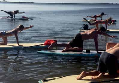 30A Sunset Paddleboard Yoga