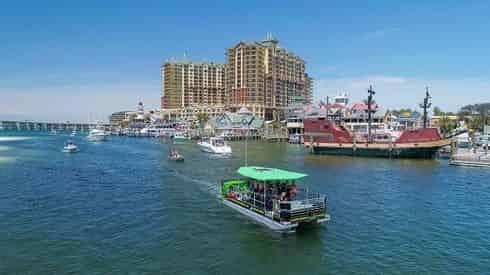 Destin Harbor & Crab Island Cycleboat Pub Tours