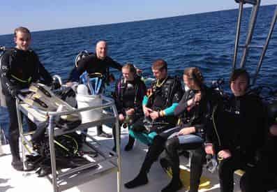 Scuba Diving Charter Trip from Panama City Beach