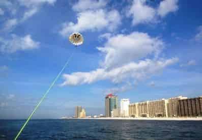 Gulf Shores Parasailing & Banana Boat Ride Combo Tour