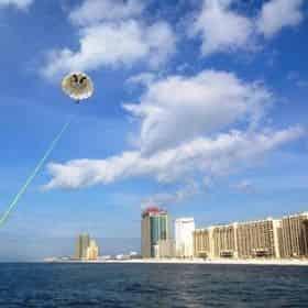 Gulf Shores Parasailing & Banana Boat Ride By Blue Sky Watersports