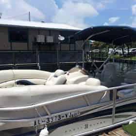 OB Watersports Full Day Pontoon Boat Rental
